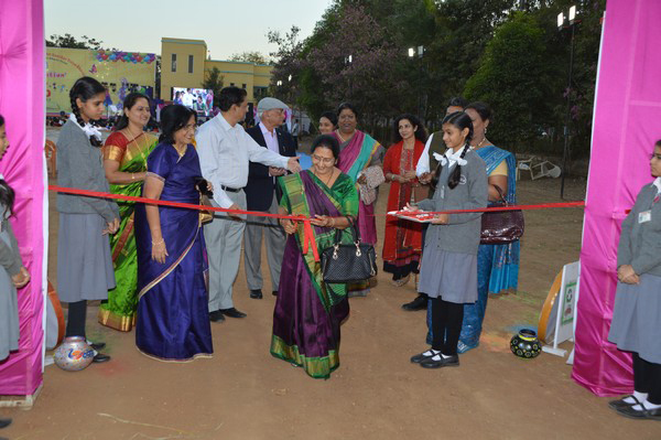 Inauguration of-SRM Village by-Mrs. Jayaben Dalwadi
